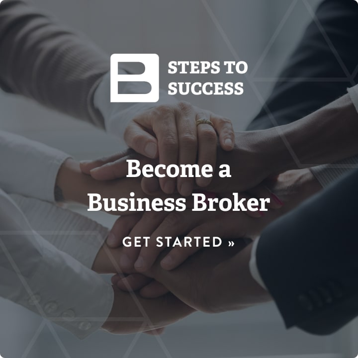 steps to success, become a business broker